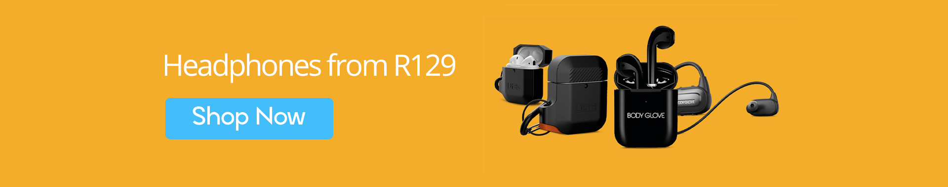 Headphones from R129 only at MondoShop.co.za